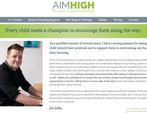 Aim High Tuition